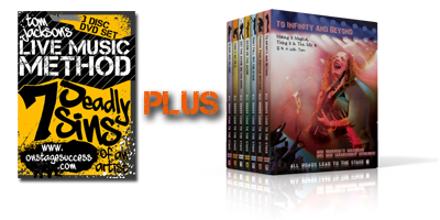 Live Music Method & All Roads - 10 DVDs