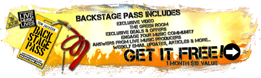 Get your complimentary backstage pass, click here