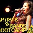 Artists & Bands Bootcamp