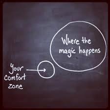 Comfort zone and magic