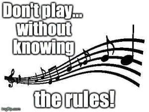 Don't play without knowing the rules