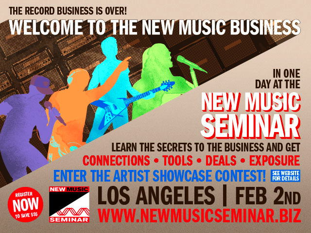 New Music Seminar Contest and 2 for 1 Registration